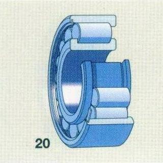 圆柱体-单列满圆柱滚子轴承  -产品展示图片